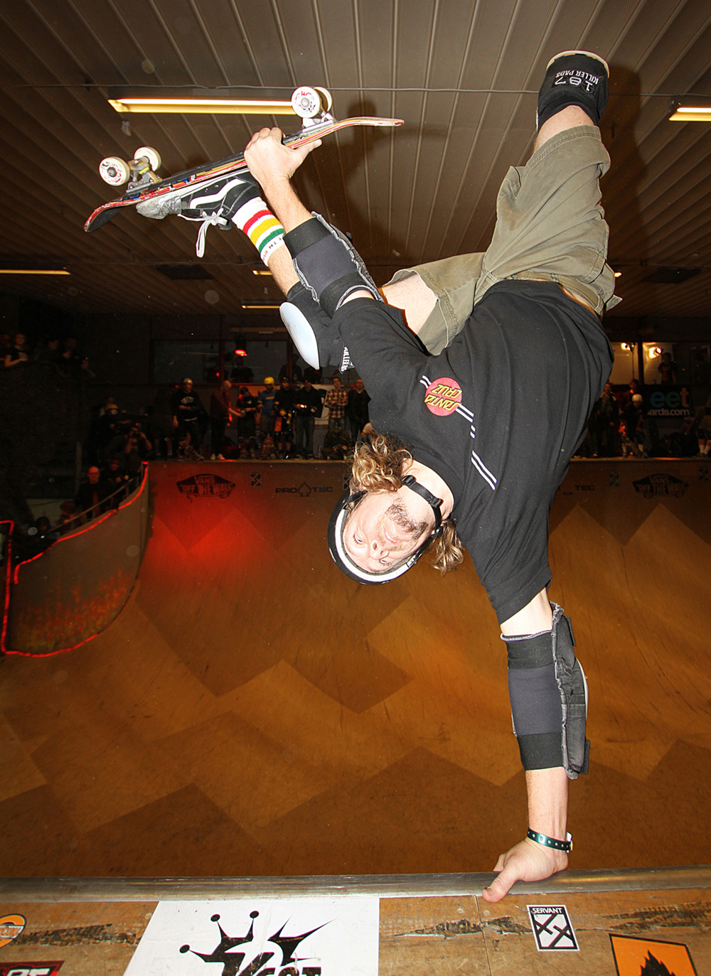 Jeff Hedges, one-foot invert